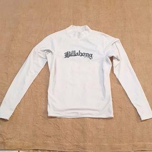 Size L Billabong rashie long sleeve